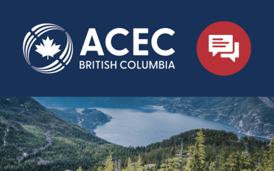 A Message from ACEC-BC YPG's Chair