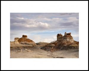 Ruins in the badlands