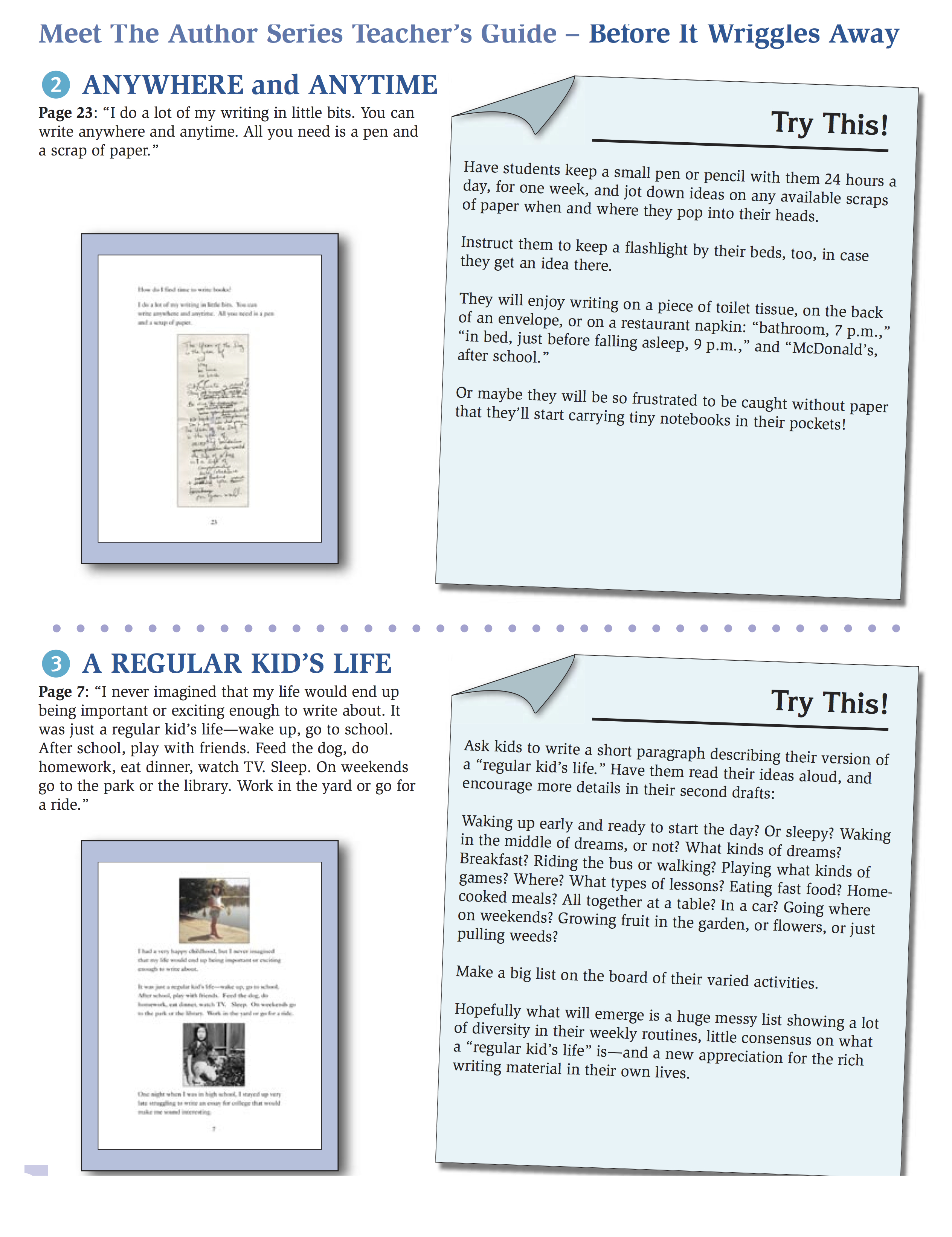 writing guide page 2