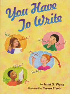 a read-aloud on the writing and revision process