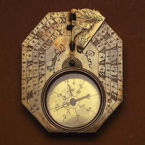 Reloj de sol tipo horizontal