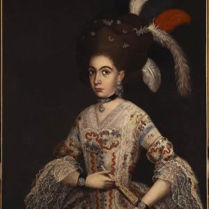 Posible retrato de María Manuela Josefa de Loreto Rita Modesta Gómez de Cervantes y Padilla