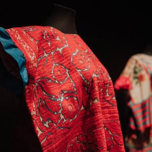 Huipil de traje mazateco (detalle)