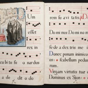 Officium Beatae Mariae. Ad vesperas (Oficio de las Vísperas de María)