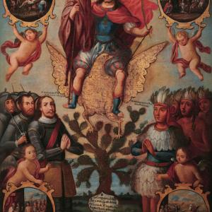 San Hipólito y las armas mexicanas