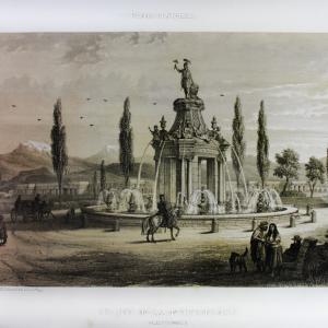 Fuente de la Independencia. Paseo y Ciudadela