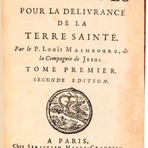 Histoire des Croisades pour la delivrance de la Terra Sainte (Historia de la Cruzadas para la liberación de la Tierra Santa)