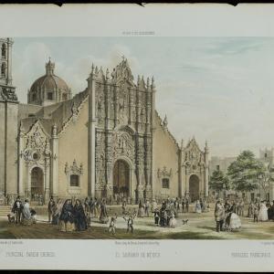 """""""El sagrario de México"""" en México y sus alrededores"""