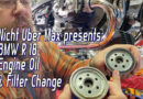 Videos on the R 18 – an introduction and an oil change!