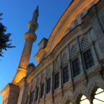A minaret in Nuruosmaniye mosque