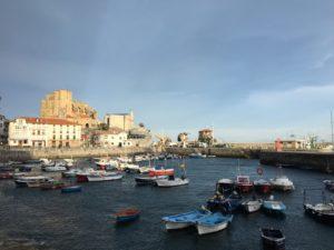 Castro Urdiales port