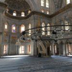 Inside Nuruosmaniye mosque