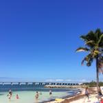 The beach at Bahia Honda State Park