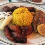 Dinner at the Cuban restaurant Versailles