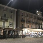 The Piazza Grande at night