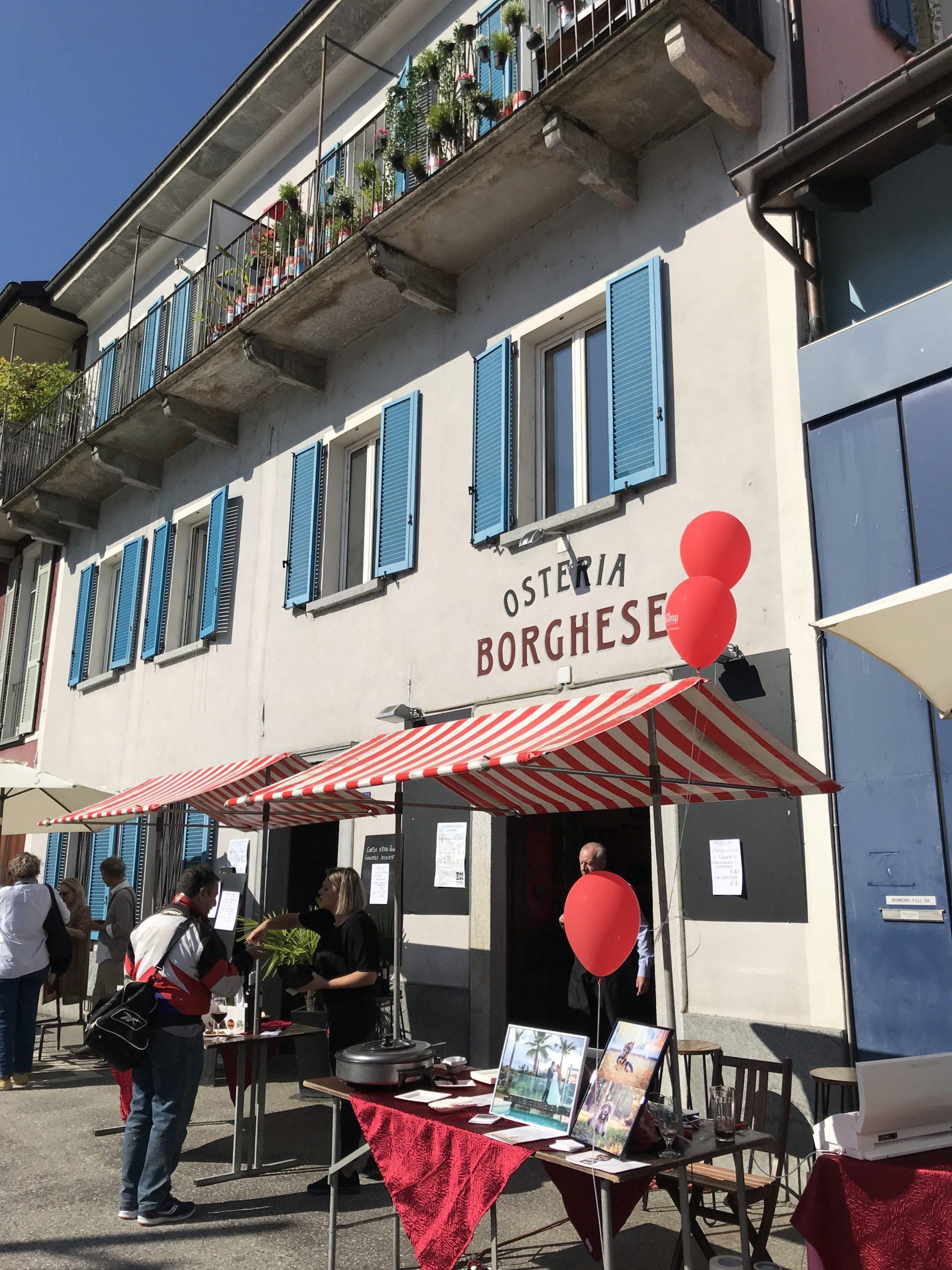 Osteria Borghese in Locarno