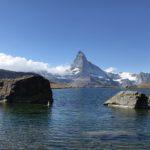 The stunning view of Matterhorn from Stellisee