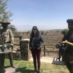 Posing at Aranjuez