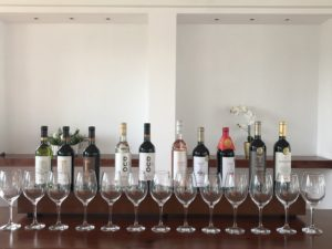 First tasting at Aranjuez
