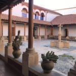 One of the beautifu patios, Entrance, Convento de Santa Teresa