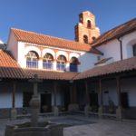 Entrance patio, Convento de Santa Teresa
