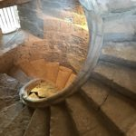 Spiral staircase in the Royal Butchery