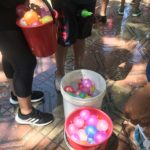 Water balloons ready for action