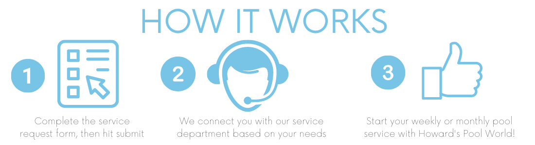 How Pool Service Works with Howards Pool World
