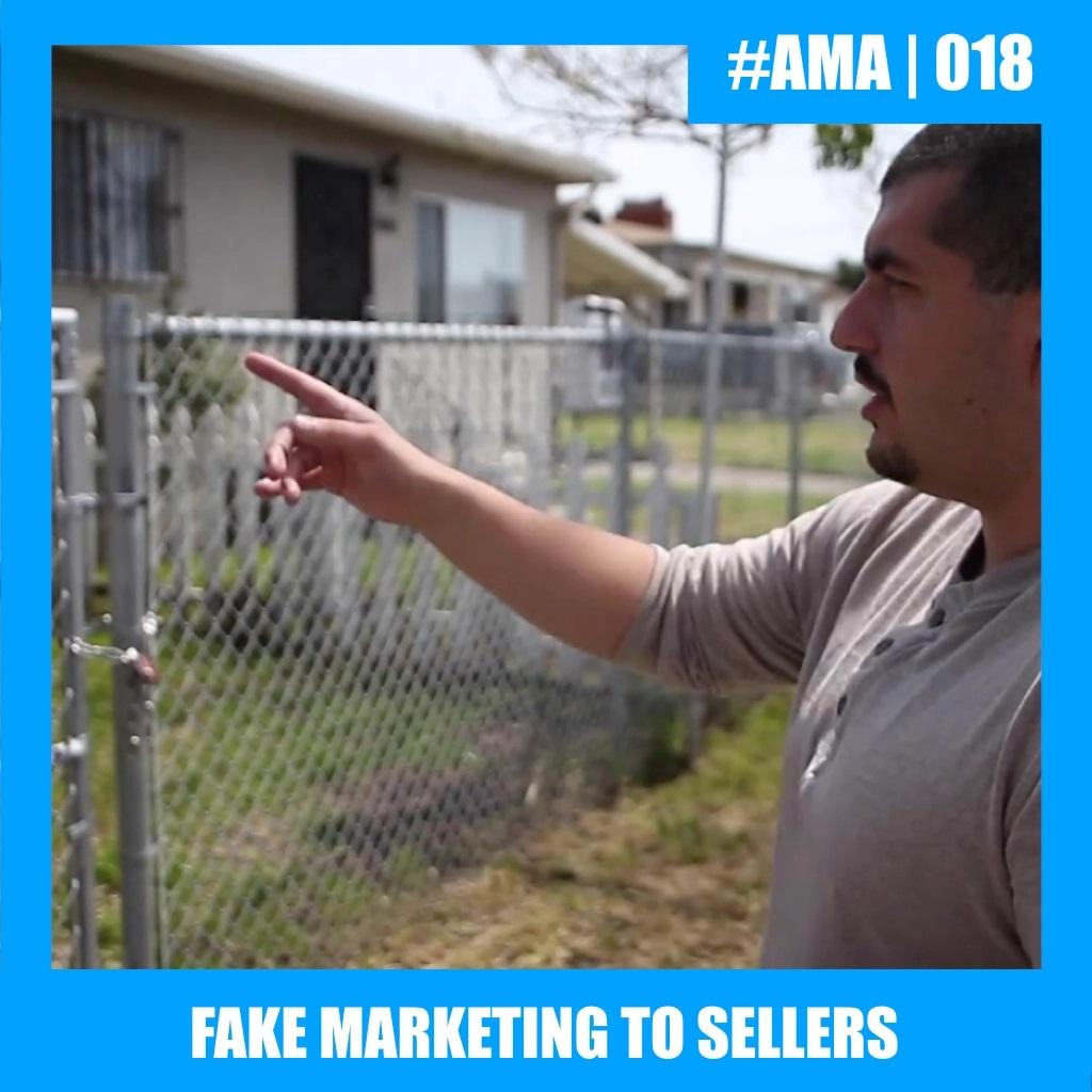 Fake Marketing to Sellers media