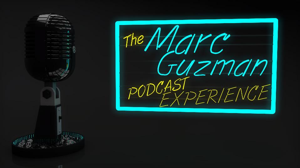 The Marc Guzman Podcast Experience new logo media