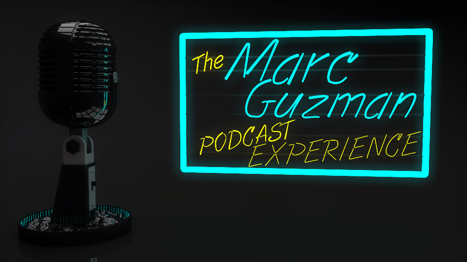 The Marc Guzman Podcast Experience new logo media