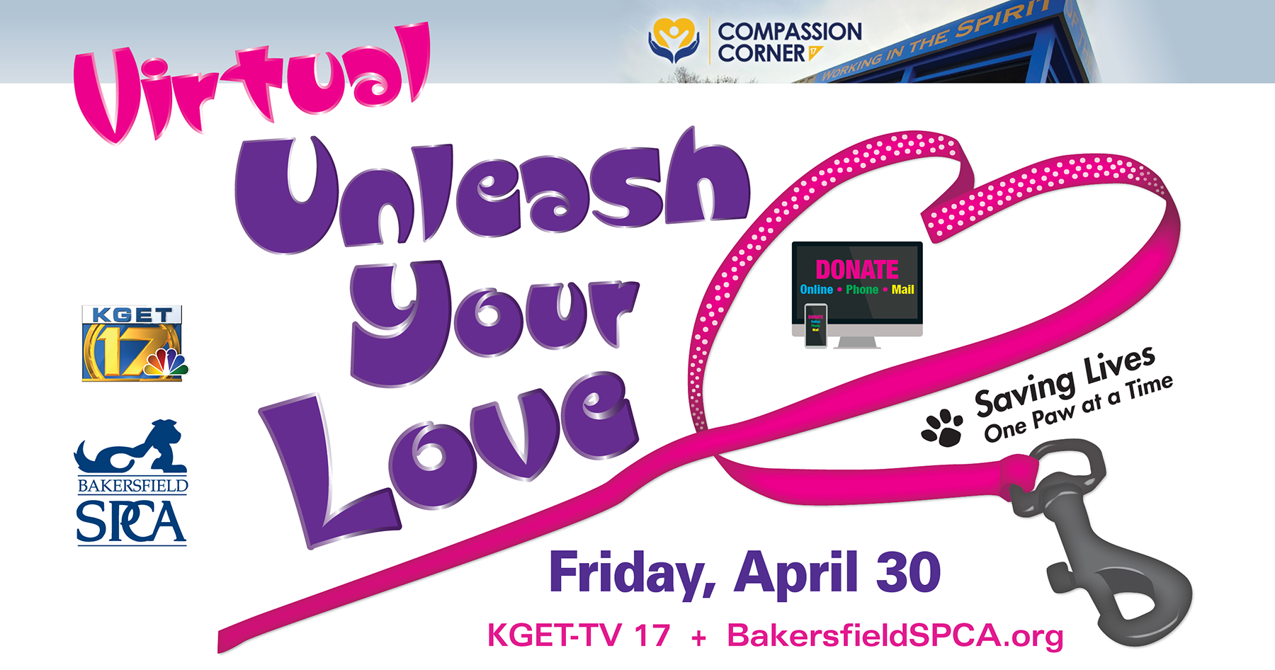 Bakersfield SPCE Unleash Your Love KGET