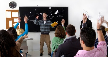 Lessons of Student Behavior in Class