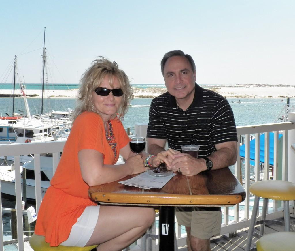 Tina and I Destin, Florida