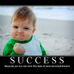 Blog kid face of success