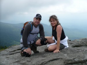 Top of Grand Father Mountain 1