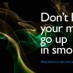 Blog Money up in smoke
