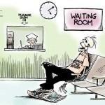 Blog cartoon emergency room