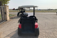 Golf-Cart-red-back