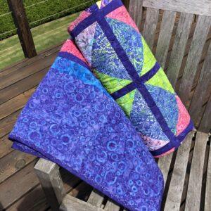 Bubble Gum Batik|60 X 80 Multi-Color | Lady VanWinkle's
