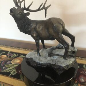 "Bronze Sculptor for Sale|First Snow|14""H X 12""W"