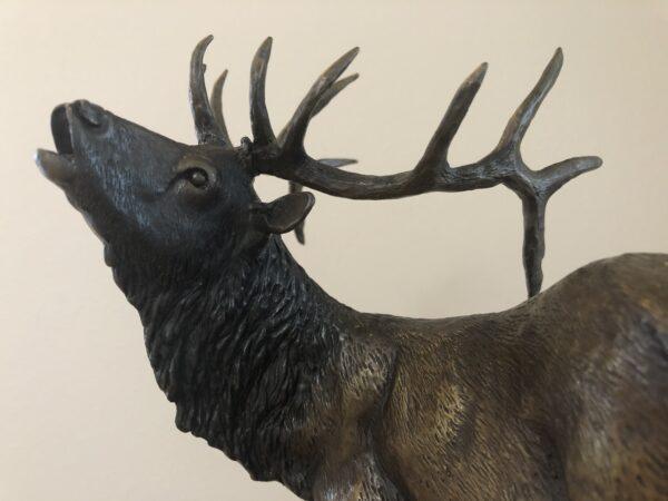 "Bronze Sculptor for Sale First Snow 14""H X 12""W"