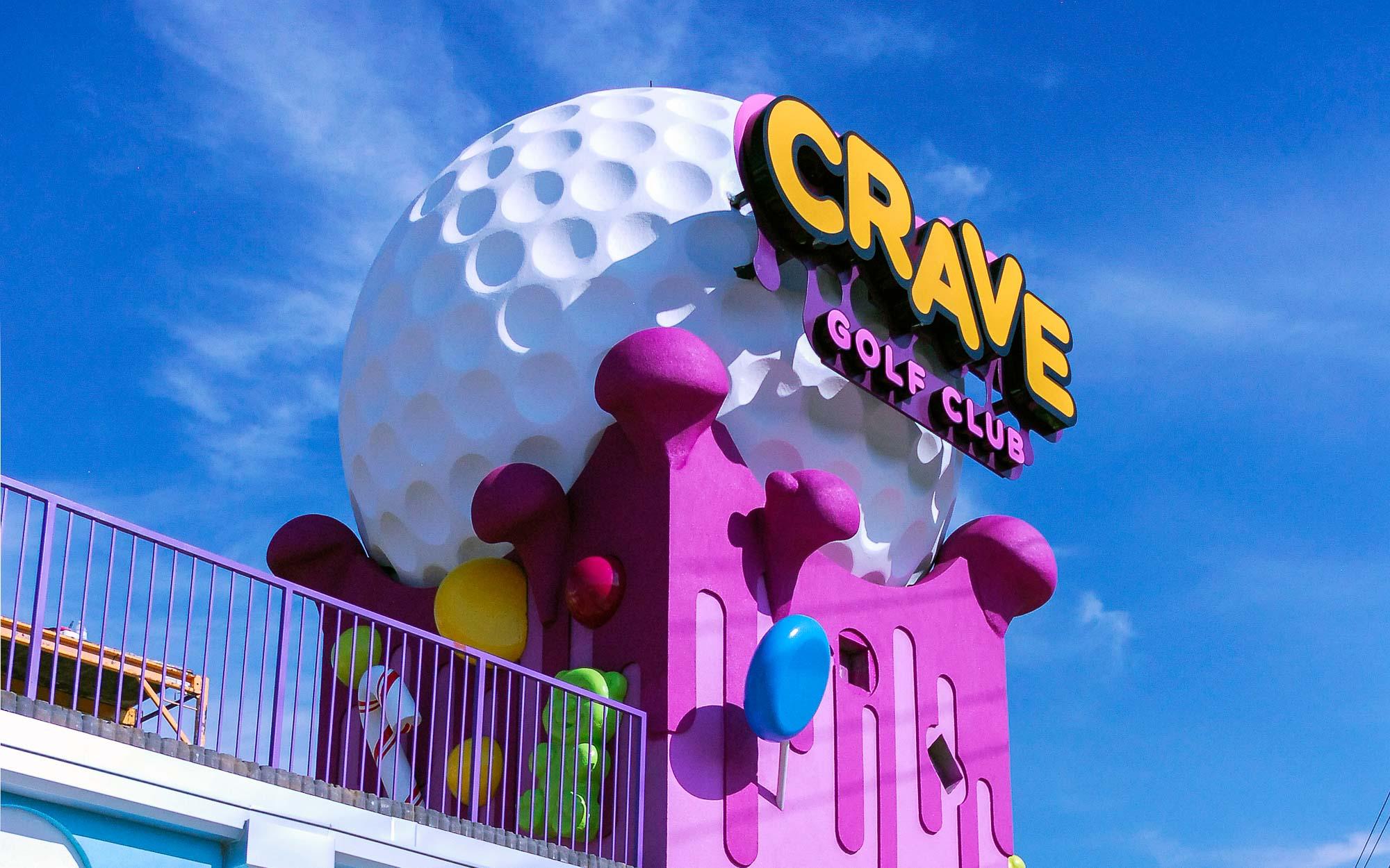 Display Dynamics - Crave golf club