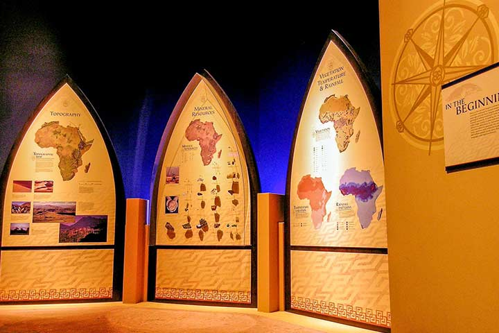 African Map display