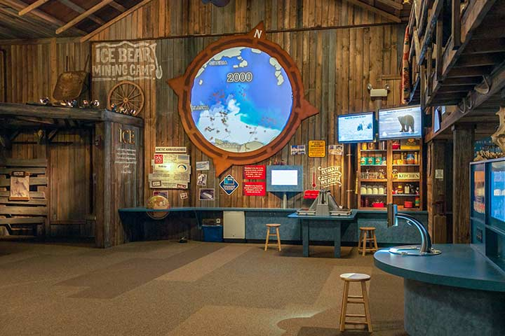 polar frontier interior shot
