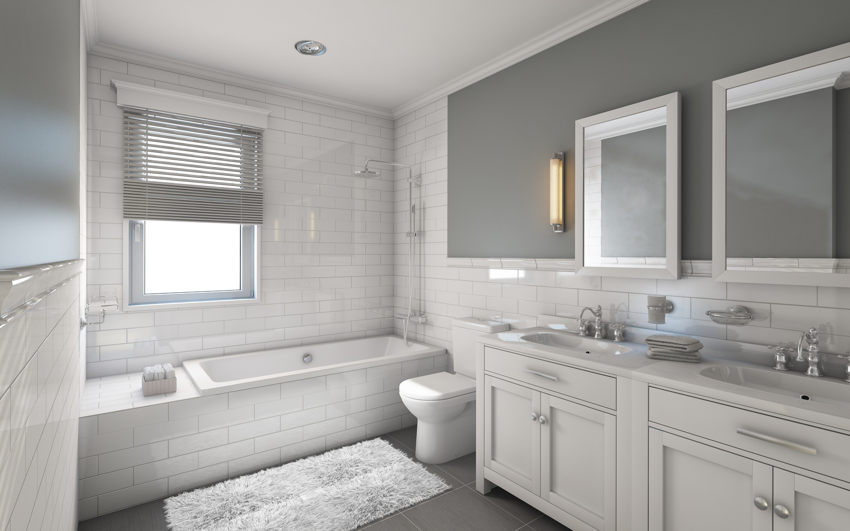 2021 Bathroom Painting and Design Trends