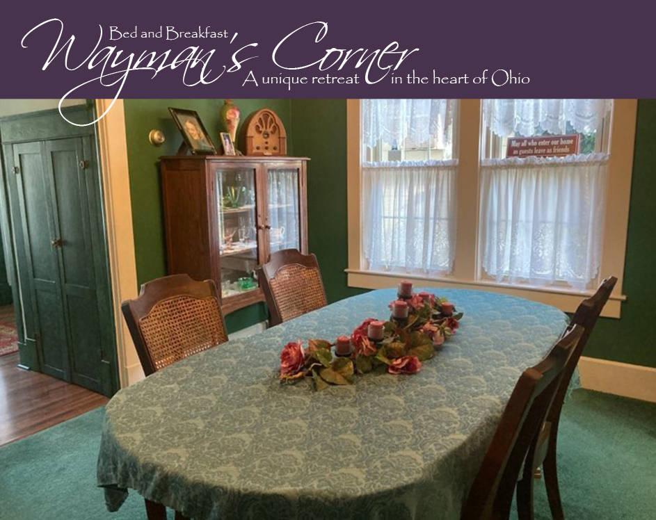 Dining Room at Wayman's Corner Guest House