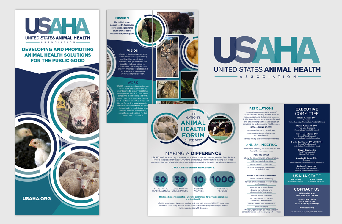 USAHA - Brochure Design