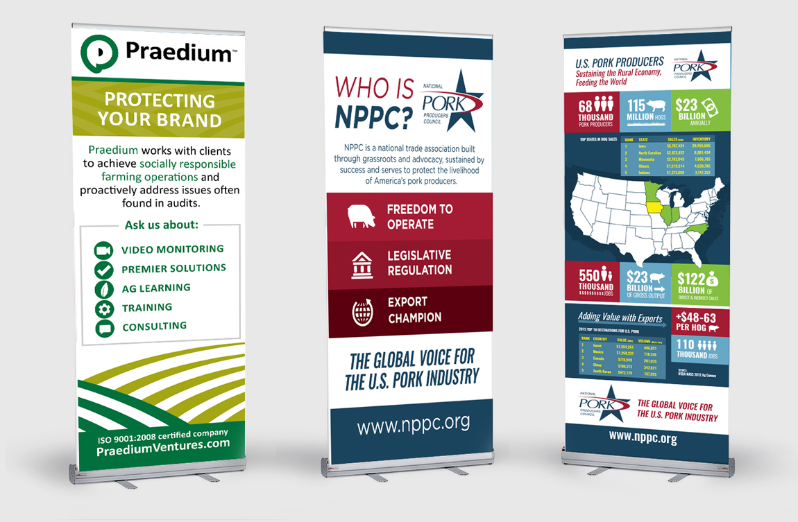 NPPC & Praedium - Tradeshow Display Design
