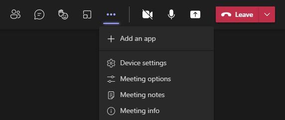 Join Microsoft Teams Meeting Settings